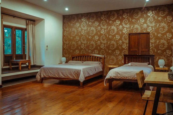 [一梦浮生] Dreamland Villa ใกล้คูเมือง-Family Room 1