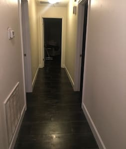 Hallway is 43 inches wide