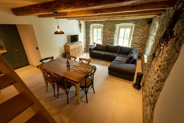 Brand new duplex in historic house! Sella