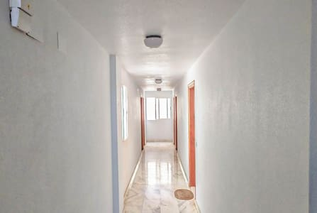 There is sufficient natural light due to windows and electric ceiling lights. The floor and building are always clean.