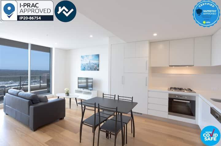 Corporate 1BR 1BA Modern Serviced Apartment