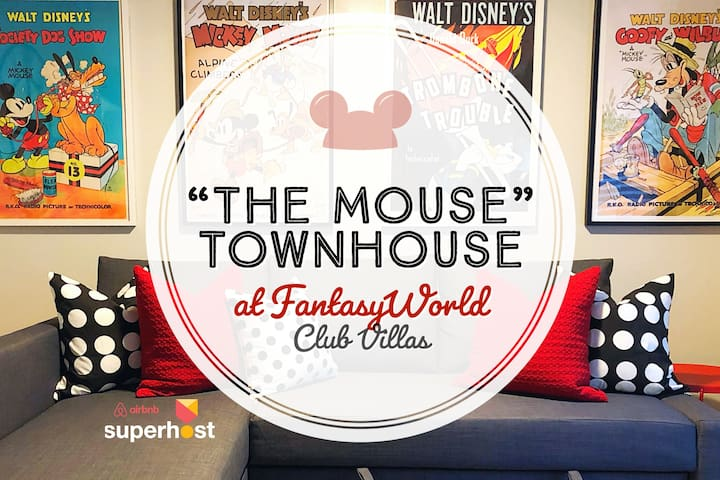 Disney World Vacation Home  - The Mouse Townhouse