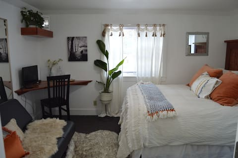Stylish & Bright , King Bed, Downtown Oasis