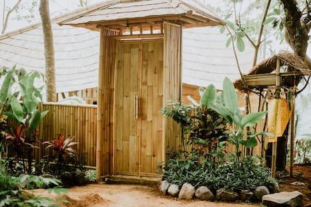 Unique Bamboo entrance
