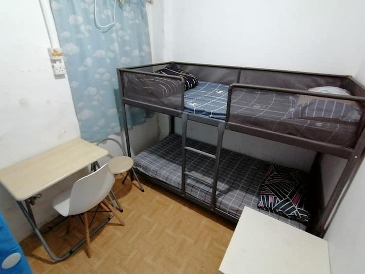 Super Economy Double Room in Tai Kok Tsui (TK6A)