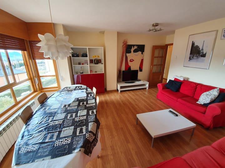Precioso piso en Jaca con encanto