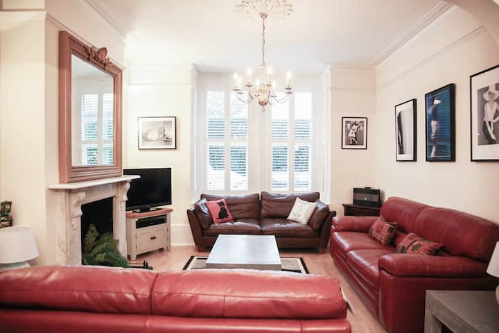 Quiet and Spacious Townhouse - Central Worthing