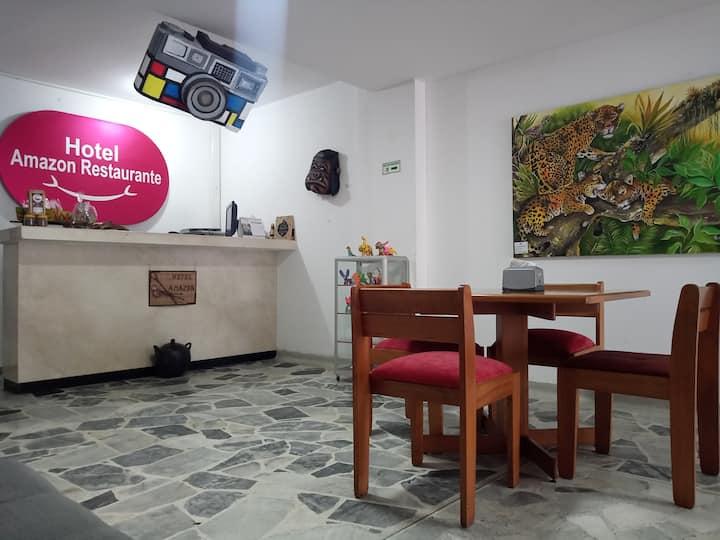 Hotel Amazon en la mejor ubicación de la ciudad