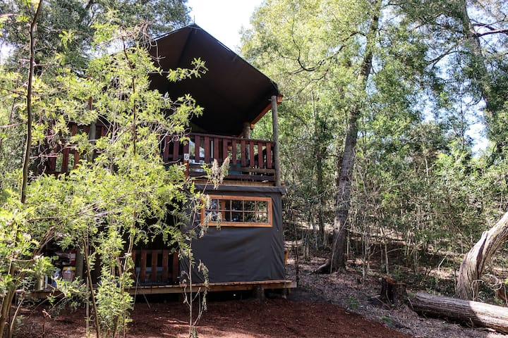 Fernhill Tented Treehouses - Sofa Bed