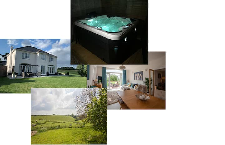 Stunning Home Sleeps 12 hot tub  Worcester Malvern