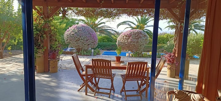 Charming house in a beautiful garden