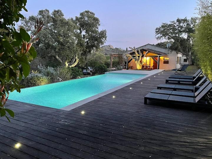 Villa 201, piscine privée, beau terrain