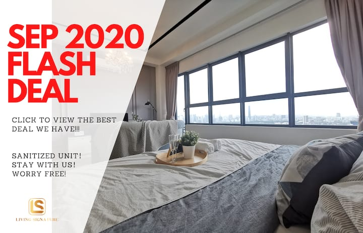 ❣ LAST MINUTE DEAL | KLCC view | 1 BED #ArtePlus
