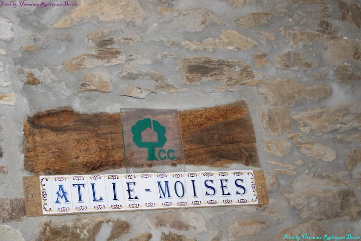 Atliê  Moises, casa do campo, turismo rural
