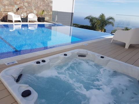Villa Islands View-Studio C med jacuzzi og swimmingpool