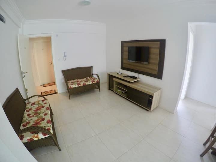 Apartamento 2 dormitórios na Praia de Bombinhas