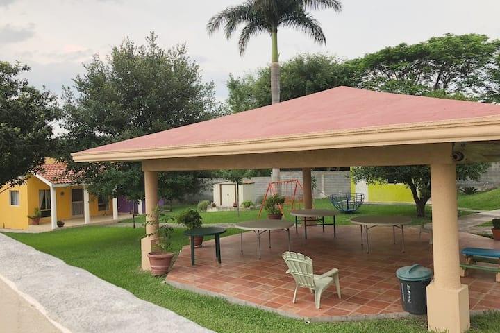 Casa de campo familiar cerca de Monterrey