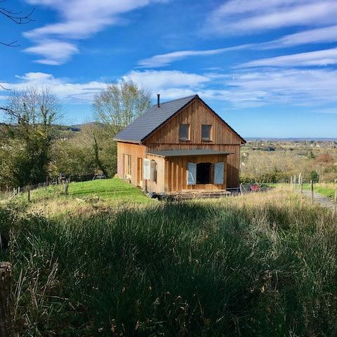 Maison avec belle vue au pied des Pyrénées