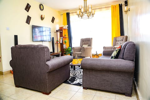 Cozy 2 bedroom apartment close to Nairobi Airport