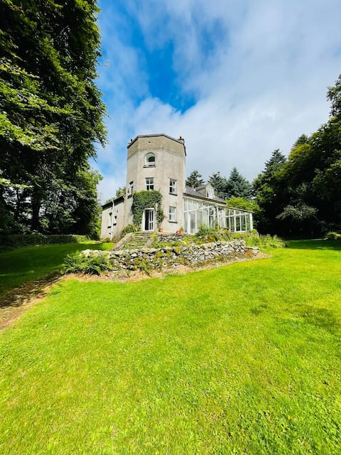 Secluded Glenbeg Tower in stunning private estate
