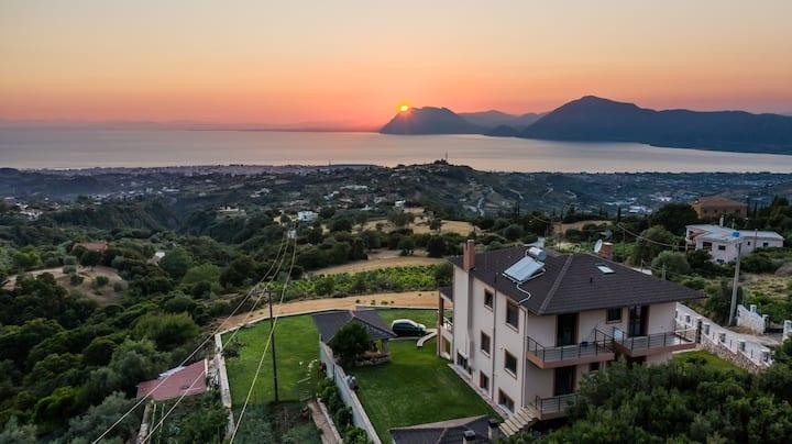 Villa Alexandros τέσσερις εποχές