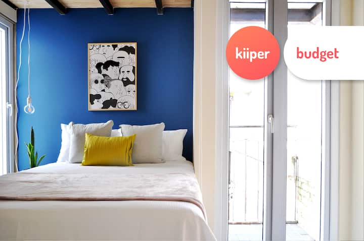 kiiper budget | Cozy Loft in Downtown | 2 PPL