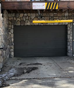 Entry to the garage