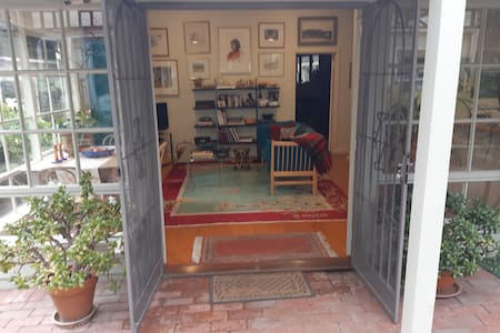Wide double doors for easy access