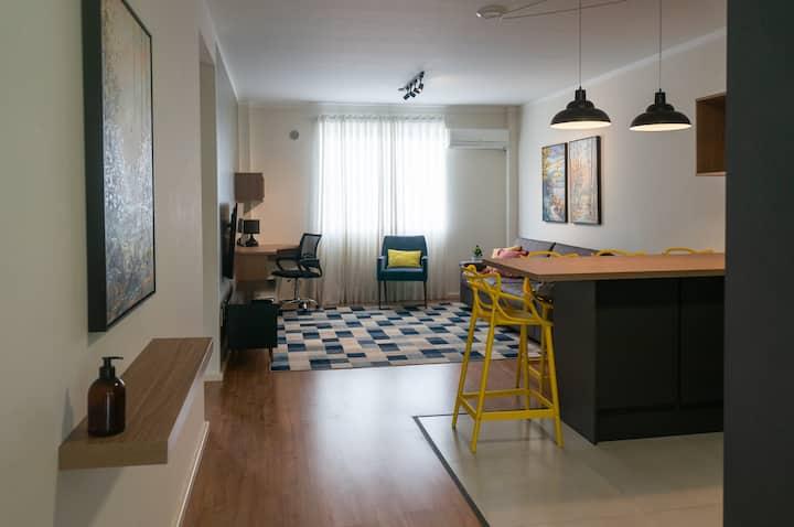 Vila Flat Luxo - Conforto e Localização