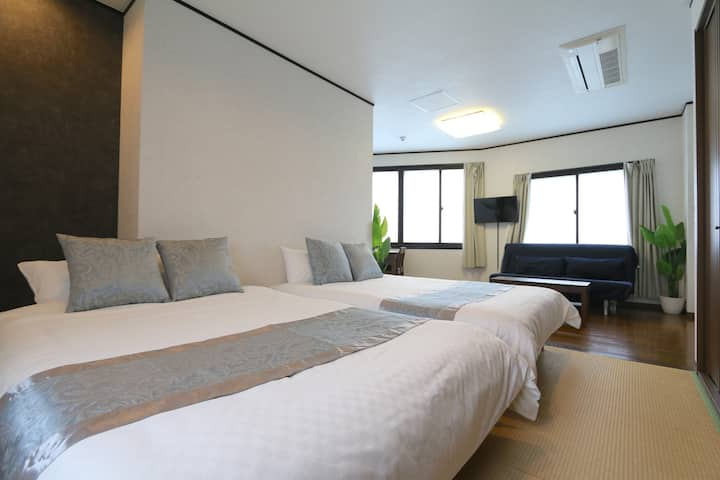 Liz4 Modern and luxury Free Parking Near Umeda