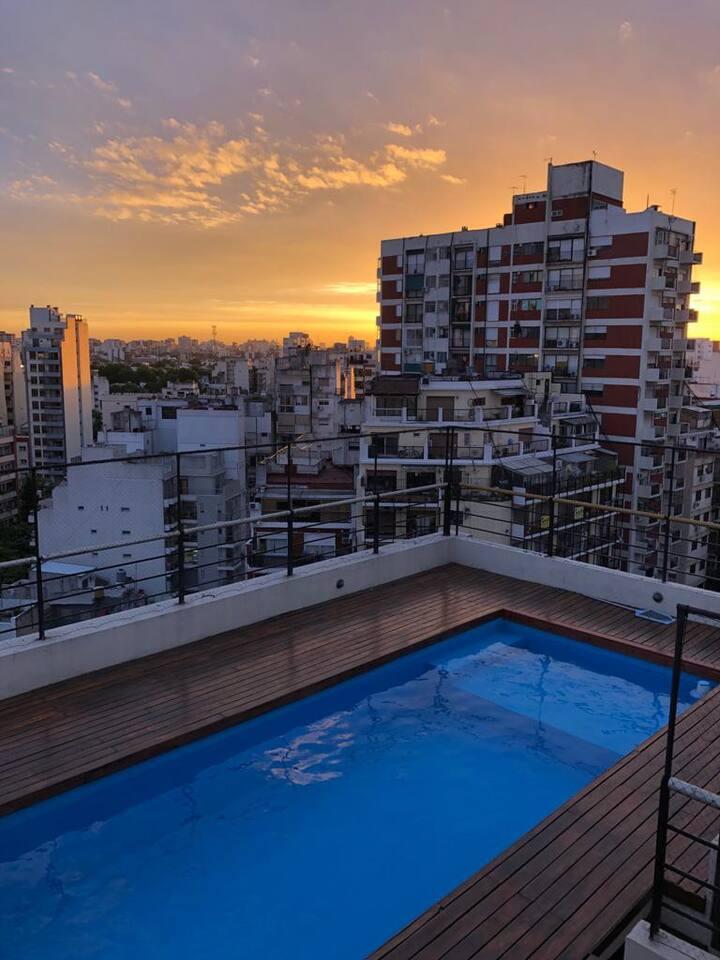 Modern, Minimalist + Pool in the heart of BA