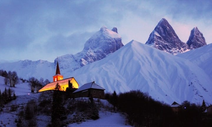 Maison de village en montagne (80m2) Les Sybelles