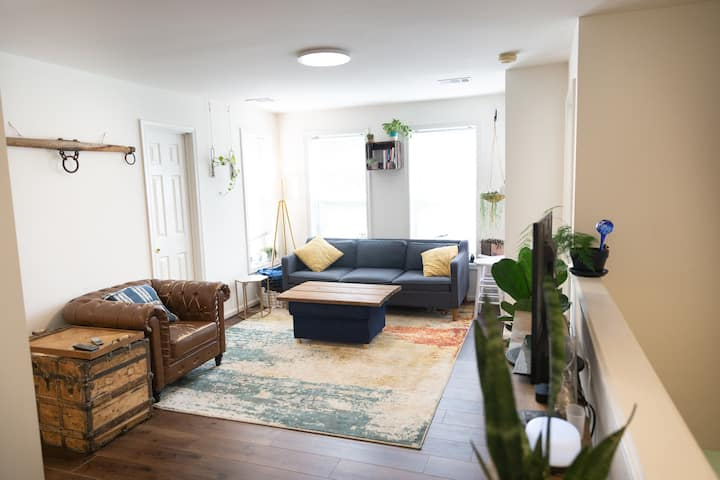 Sunny 3 bedroom close to Union Station and H st