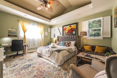 Lujosa casa con cama de agua Executive