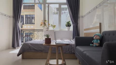 Balcony apartment wt affordable price in Tan Binh