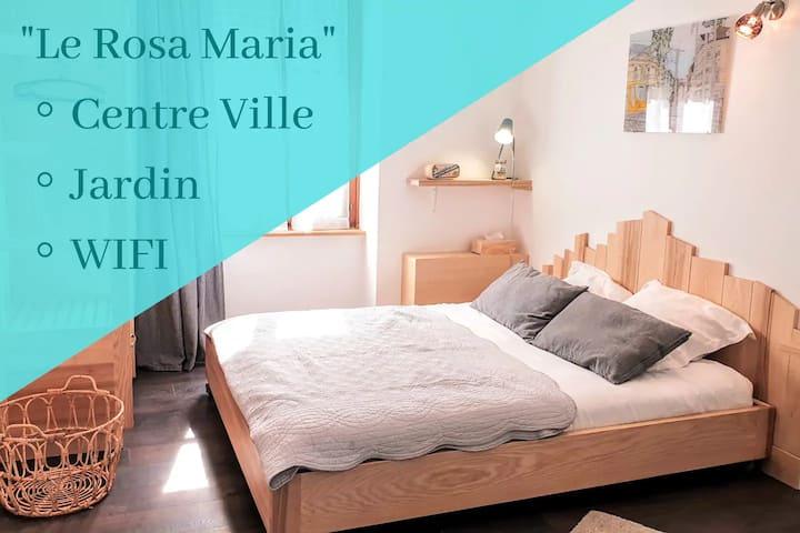 ★STUDIO ROSA MARIA★CENTRE-VILLE★CLEAN★