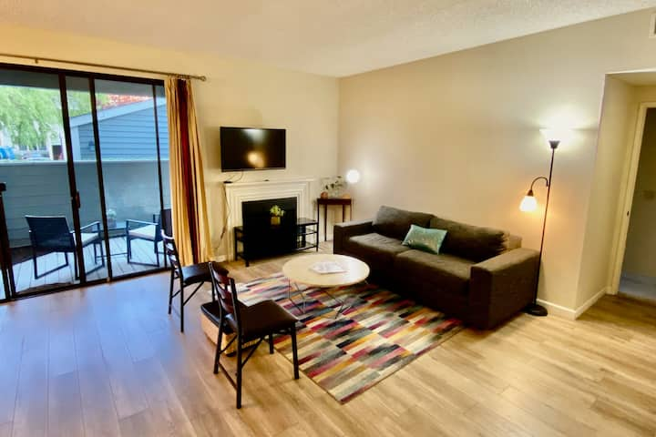 Beautiful 1 BD 1 BA condo in Central Fremont