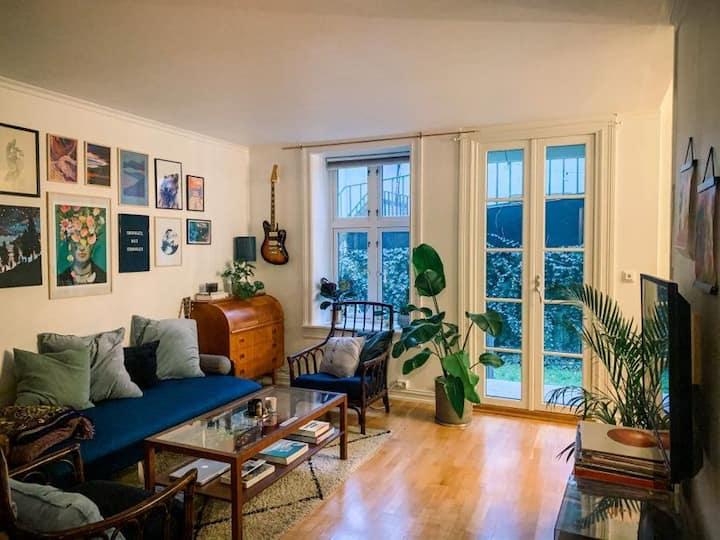 Cozy apartment in Grünerløkka, near city center