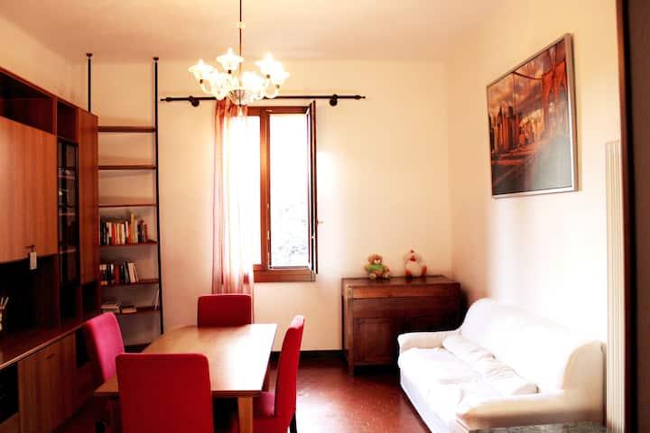 Ampio e confortevole appartamento in zona centrale