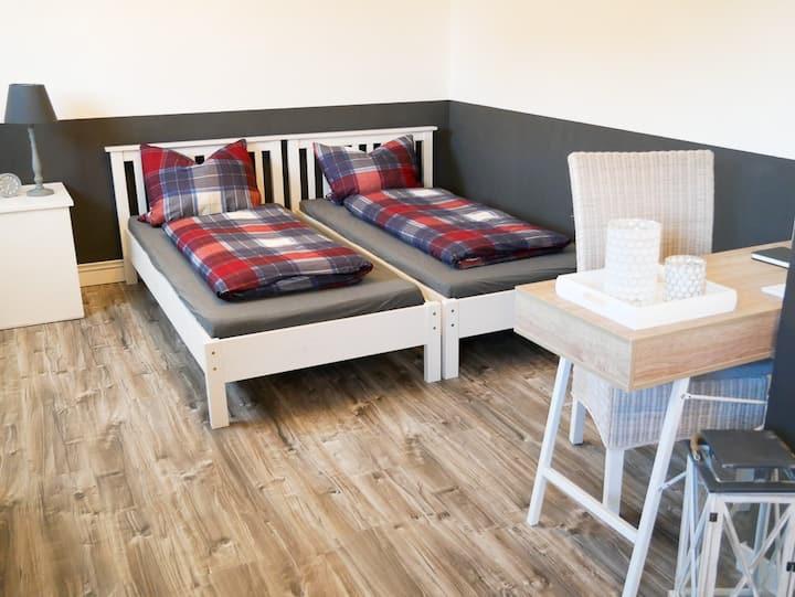 Komfortables Zimmer für bis zu 4 Personen