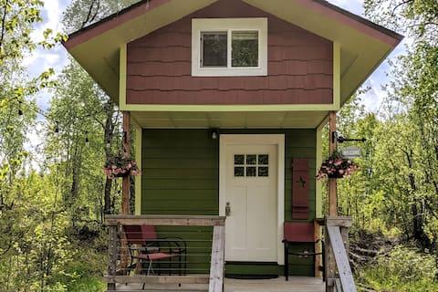 Raven 's Roost-Tiny House u šumi Talkeetna