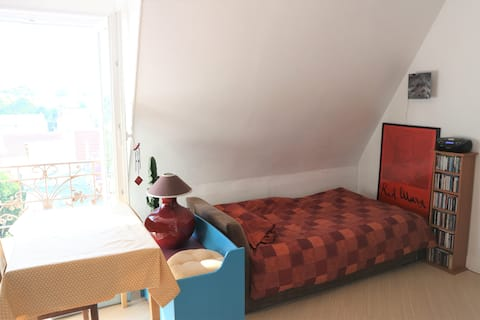 Just for a sleep - in a cosy and ecological flat !