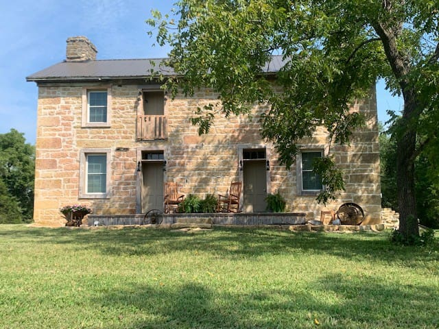 Historic Hildebrand Farmhouse (lower level)