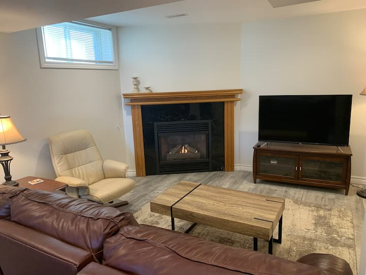 Lower Level Suite in Private, Detached Home