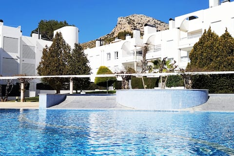 Apartment with pool and garden in Puerto Pollensa