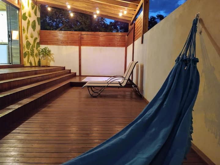 Eco Cabana Praia Alegre com Hidromassagem Externa