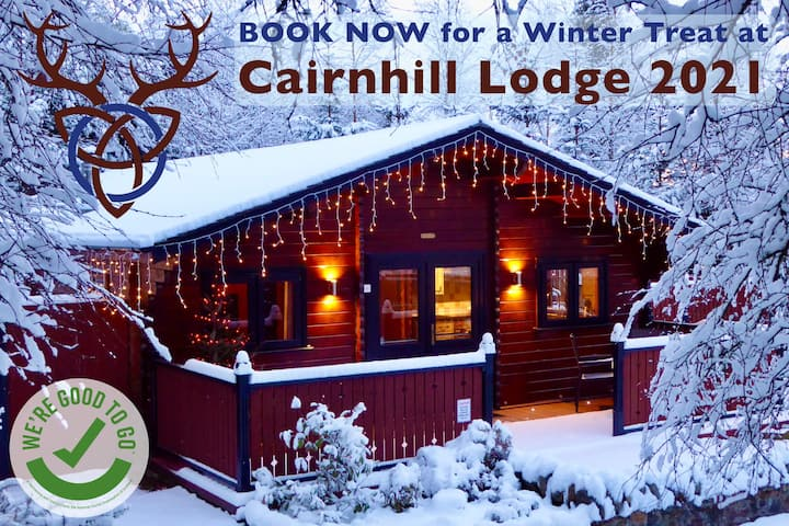 Cairnhill Lodge:  Scottish-Alpine Highland Retreat