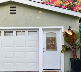 Private and secure well lit entrance with digital locks for easy access.
