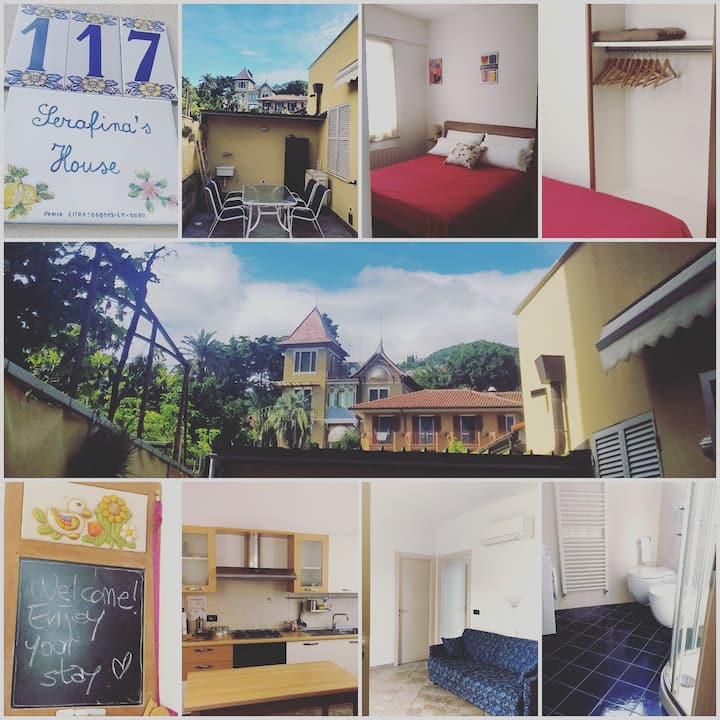 Private GF House+Private Garage: Serafina's House
