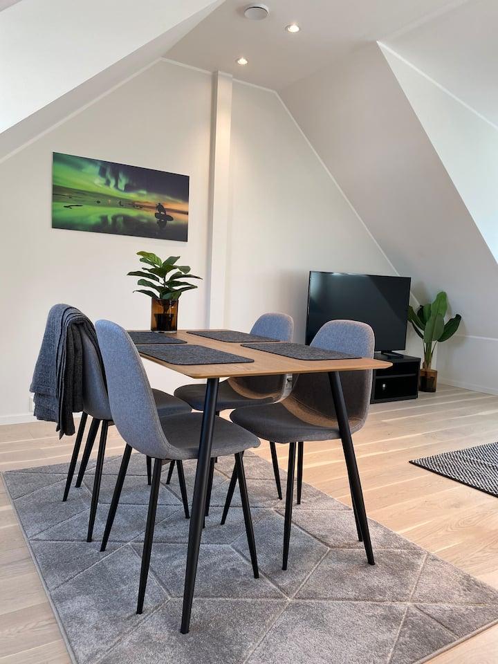 Brand new panorama apartment in Tromsø centre! Ap4